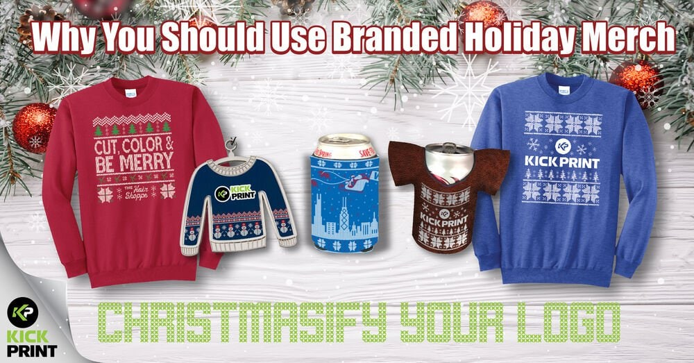 Quick List! - Why Branded Holiday Apparel Works